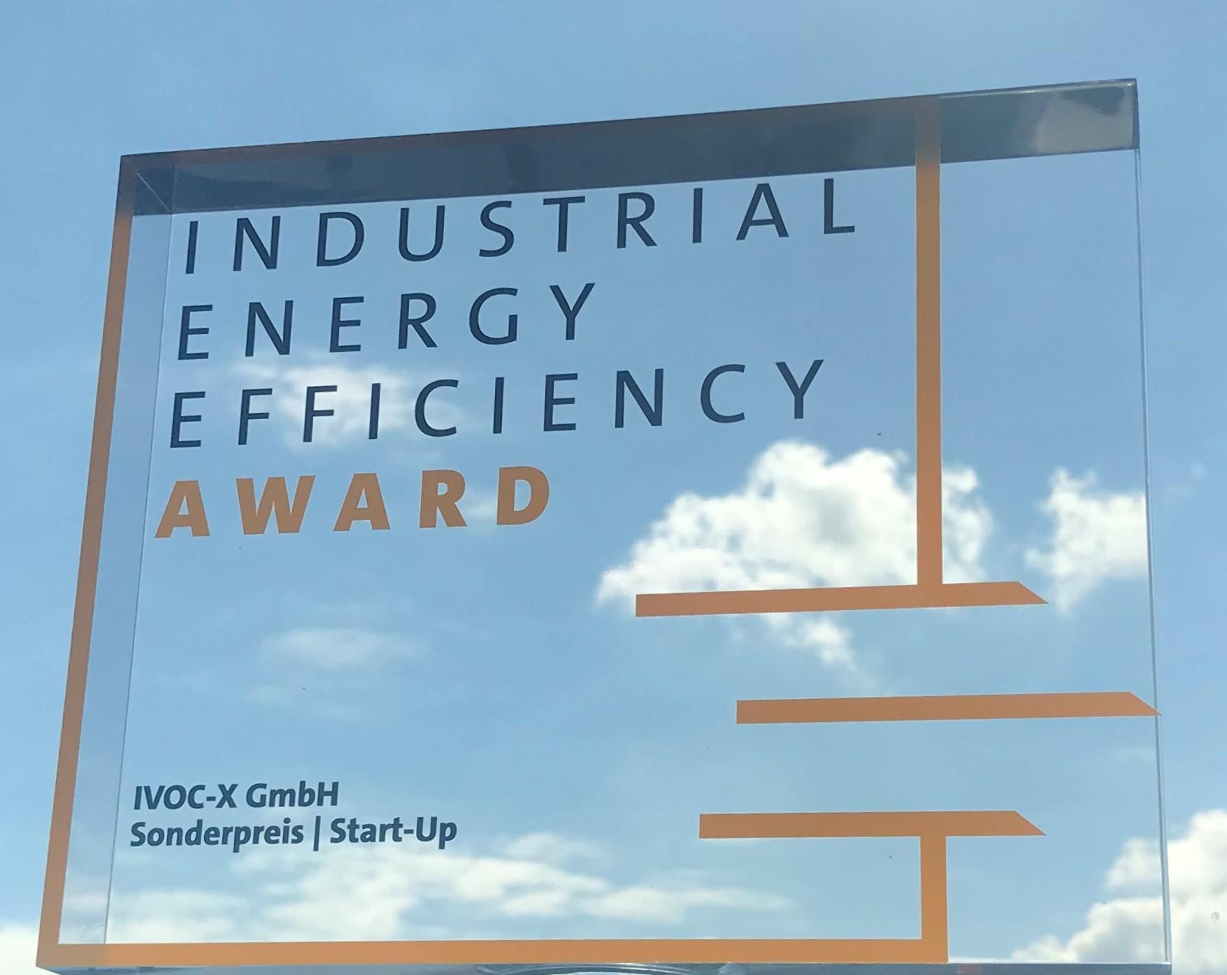 IVOC‑X Gewinnt Den Industrial Energy Efficiency Award