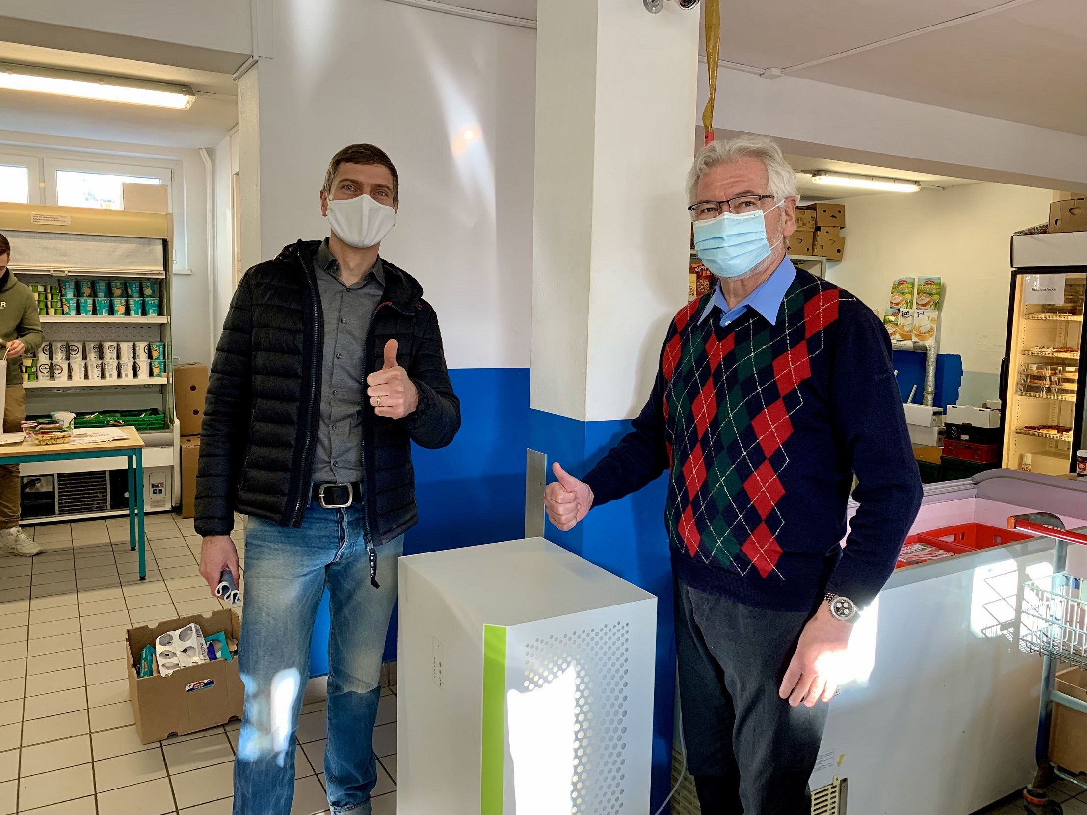Tafelkiosk Erhält IVOC‑X Luftreiniger Für Saubere Luft