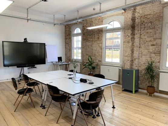 Büro Meetingraum Besprechungsraum Coworking Space